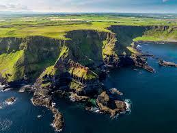 Ireland-Island in the North Atlantic
